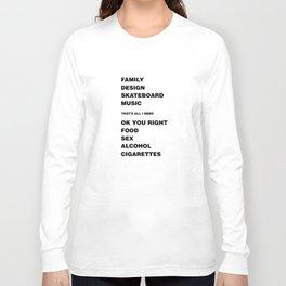 Ok You Right Long Sleeve T-shirt