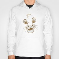 simba Hoodies featuring Simba  by Luxatr