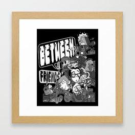 Between Friends Framed Art Print