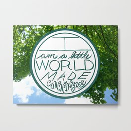 Little World, Trees Metal Print