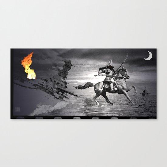 Musashi at Brunei Canvas Print