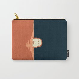 I disappeared Carry-All Pouch