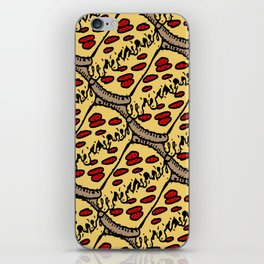 pattern pizza iPhone Skin