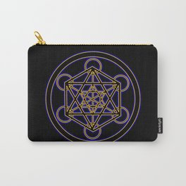 Metatron Blue Gold Carry-All Pouch