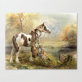 Indian Autumn Canvas Print