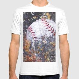 Baseball Art 5 T-shirt