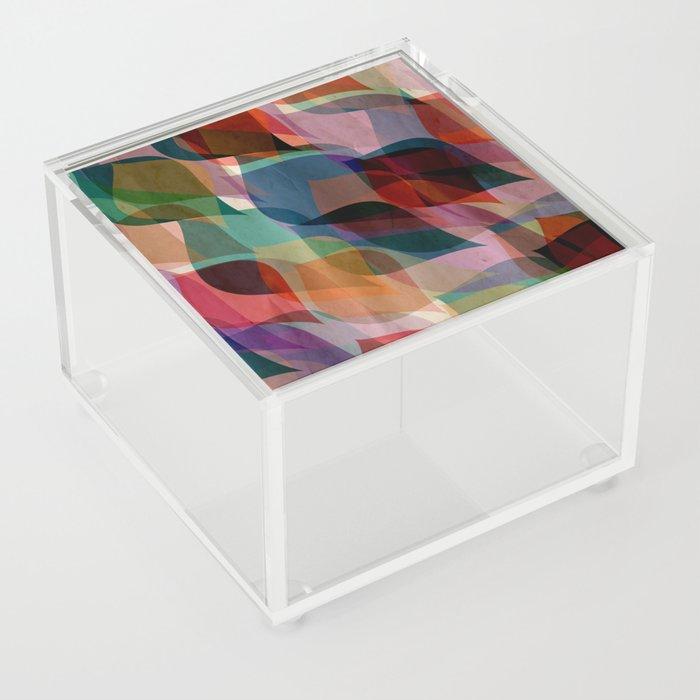 if you leaf me now Acrylic Box