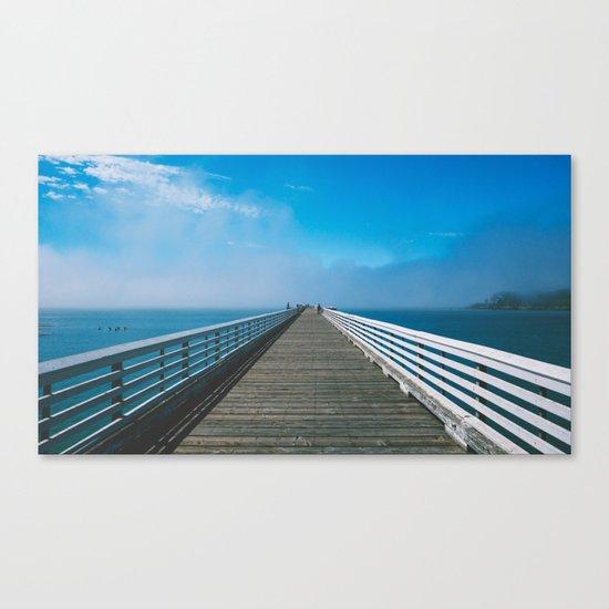 Boardwalking Canvas Print