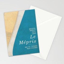 Contempt, Le Mépris, Jean-Luc Godard, Fritz Lang, Brigitte Bardot, french film, new wave, vague Stationery Cards