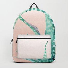 Desert Succulent Aloe Vera Backpack