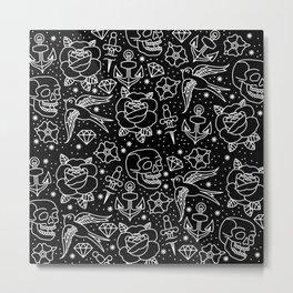 Black flash Metal Print