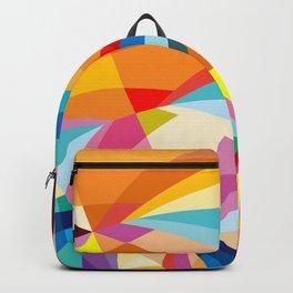 C13D Radial Geometric Backpack