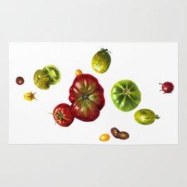 Heirloom Tomatoes Rug