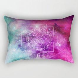 Stellar Sri Yantra Rectangular Pillow
