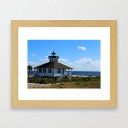 Port Boca Grande Light Framed Art Print