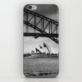 Bridge's, Bird's and Opera Houses iPhone Skin
