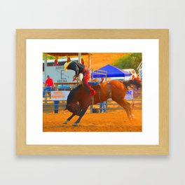 Up And Over Framed Art Print