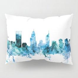 Perth Australia Skyline Pillow Sham