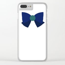 Sailor Neptune Bow Clear iPhone Case