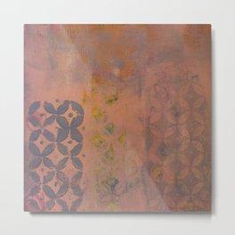 Lavender and Rose Metal Print