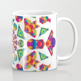 Prismatic Kaleidoscopicism Coffee Mug