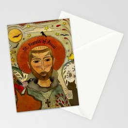 St. Francis of Assisi Stationery Cards