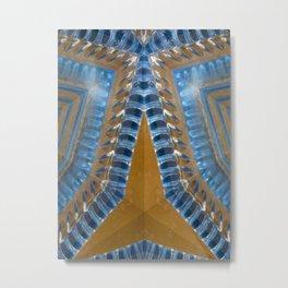 Alien Millipede Metal Print