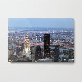 Buildings of New York Metal Print