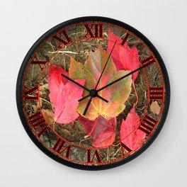 As the Seasons Turn Wall Clock