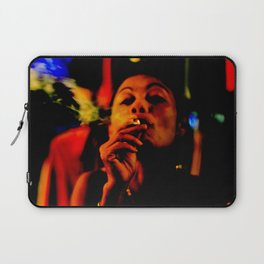 Smoking in the Nightclub Laptop Sleeve