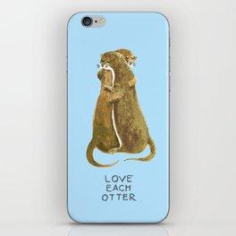 Love each otter iPhone Skin