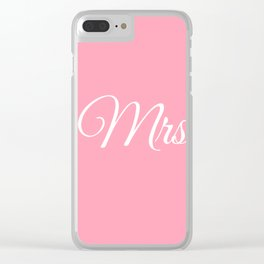 Mrs Clear iPhone Case