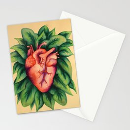 Floral Heart Stationery Cards
