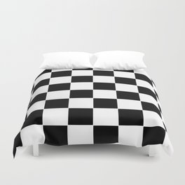 Checkerboard pattern Duvet Cover