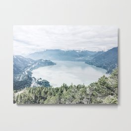 View from The Chief Metal Print