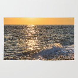 Sea sunset Rug