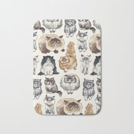 Disappointed Cats Bath Mat