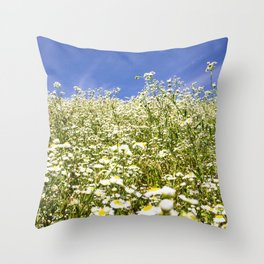 Flower Photography by Roman Synkevych Throw Pillow