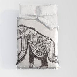 The Anatomy of a Pregnant Gorilla Comforters