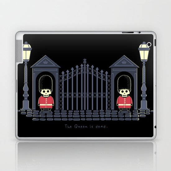 The Queen Is Dead Laptop & iPad Skin