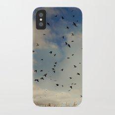 Harvest birds Slim Case iPhone X