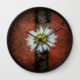 Nature Wins Wall Clock