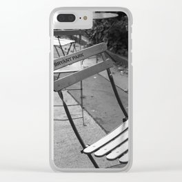 Meet me in Bryant Park Clear iPhone Case