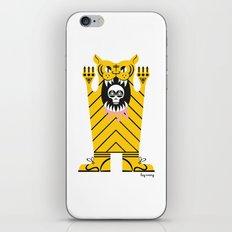 Drawing Tiger iPhone & iPod Skin