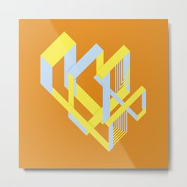 YGB Isorinth Metal Print