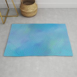 Ripples In The Water Rug