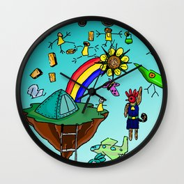 Kriboisme Wall Clock