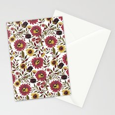 PUGS FLORAL Stationery Cards