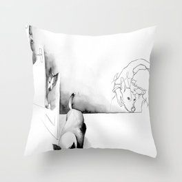 Geburtstag 2 Throw Pillow