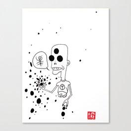 Weird World 3. Legless Johnny Canvas Print